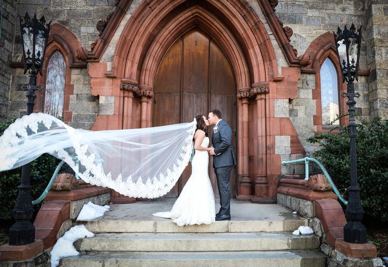 Martha and Ben's wedding at Oxon Hill.