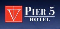 Pier 5 Hotel logo. 13 Best Baltimore Wedding Venues.
