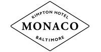 Hotel Monaco Baltimore logo. 13 Best Baltimore Wedding Venues.